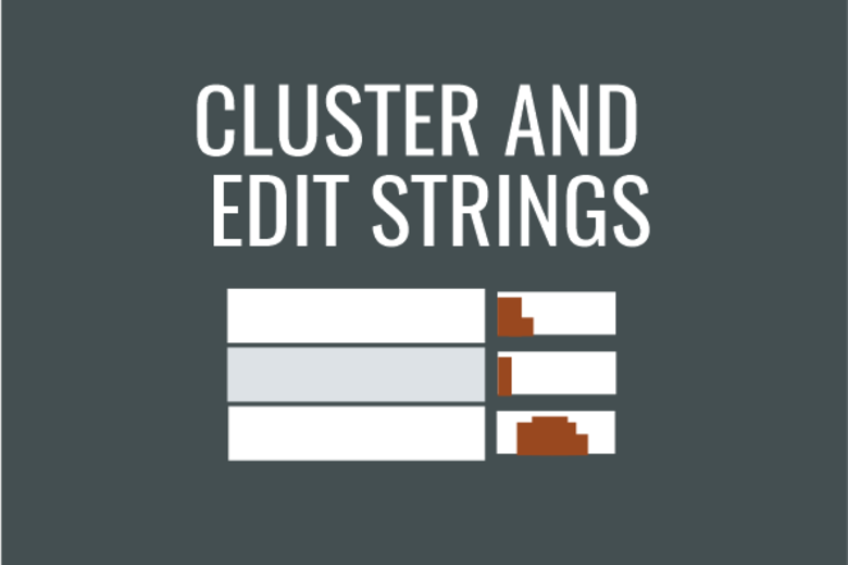 Cluster strings image