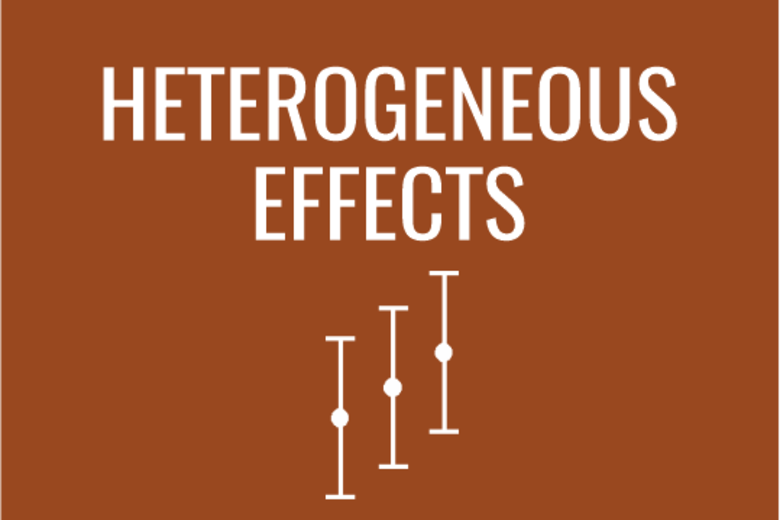 Heterogenos Effects