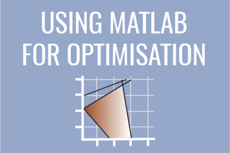 Using MATLAB for optimisation graphic with graph