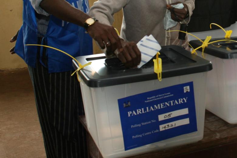 Sierra Leone Ballot Box