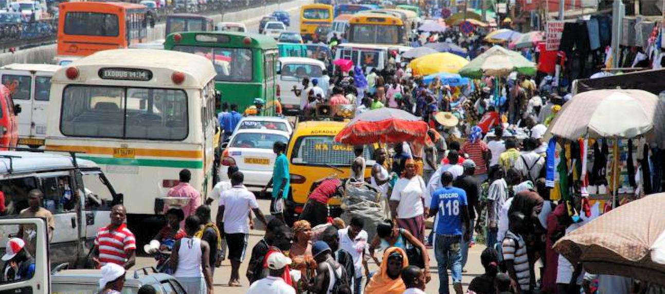 Ghana Street Photo