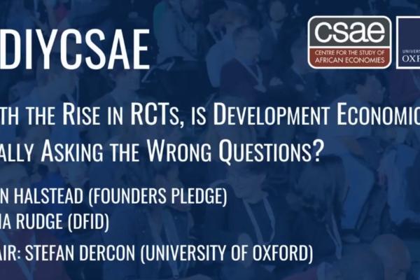 CSAE Conference 2020 Closing Plenary Panel image