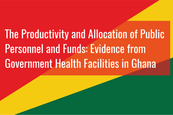 Title graphic for Ghana Health Project