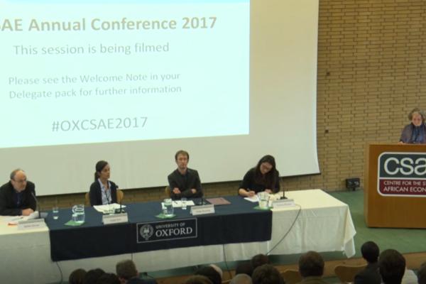 opening plenary panel