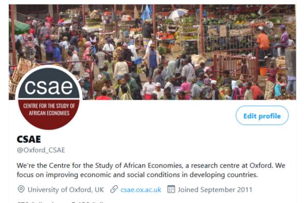 csae twitter homepage screenshot