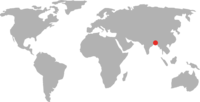 Map - Bangladesh