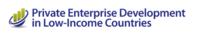 Private Enterprise Development in Low Income Countries Logo