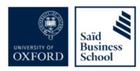 Said Business School Logo